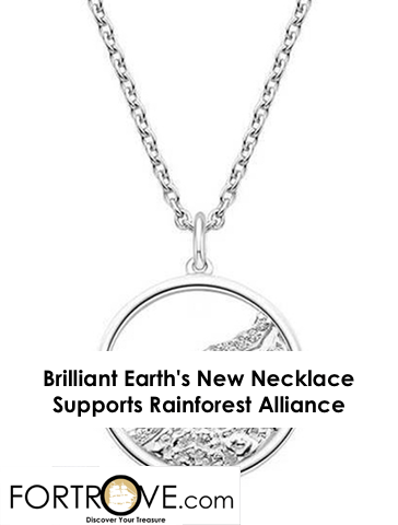 Brilliant Earth's New Necklace Supports Rainforest Alliance
