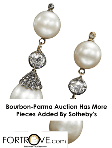Bourbon-Parma Jewelry Auction Has More Pieces Added By Sotheby's
