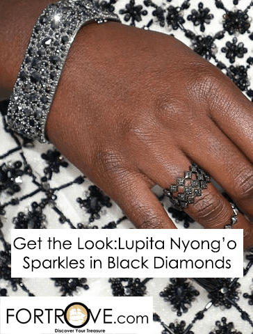 Get the Look: Lupita Nyong'o Sparkles in Black Diamonds