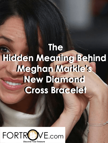 The Hidden Meaning Behind Meghan Markle's New Diamond Cross Bracelet