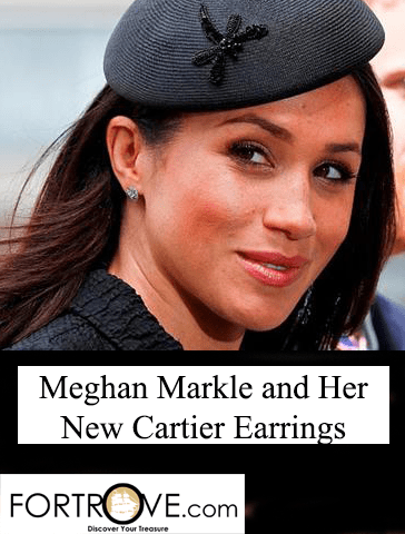 Meghan Markle's New Cartier Earrings