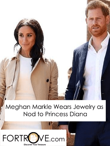 Meghan Markle Wears Jewelry as Nod to Princess Diana?