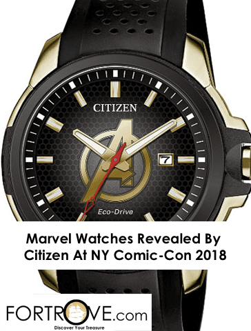 Marvel Watches Revealed By Citizen At NY Comic-Con 2018