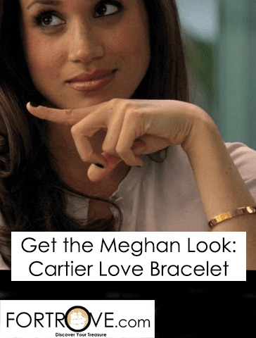 Get the Meghan Look: Cartier Love Bracelet