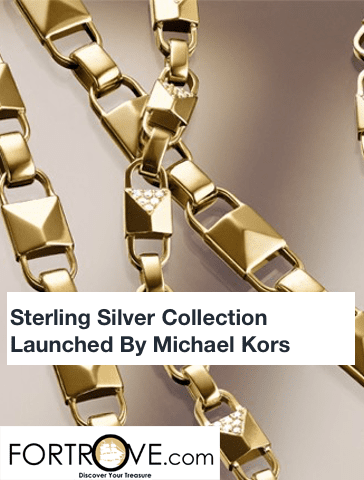 Sterling Silver Collection Launched By Michael Kors