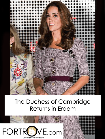 The Duchess of Cambridge Returns in Erdem