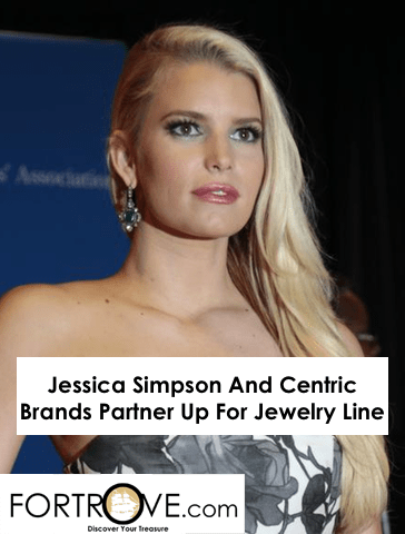 Jessica Simpson And Centric Brands Partner Up For Jewelry Line