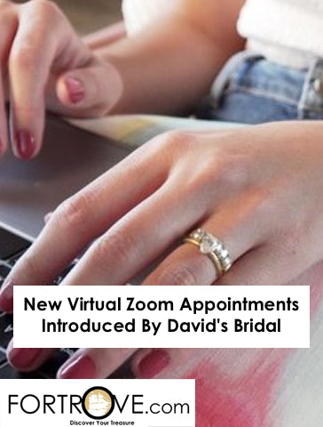 New Virtual Zoom Appointments Introduced By David's Bridal