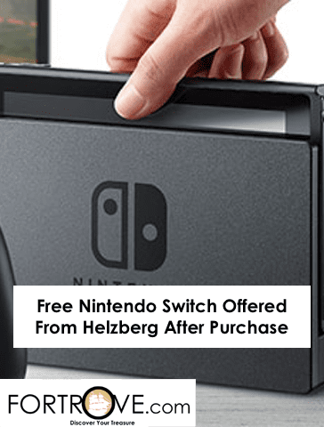 Free Nintendo Switch Offered From Helzberg After Purchase