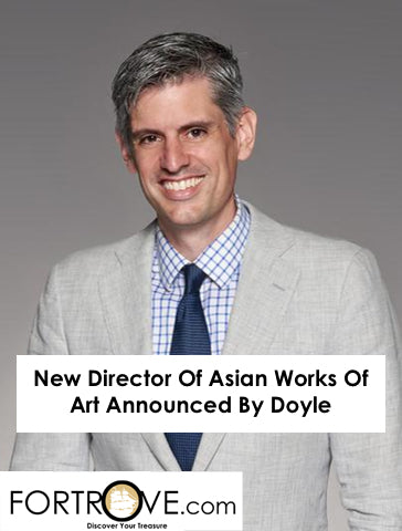 New Director Of Asian Works Of Art Announced By Doyle