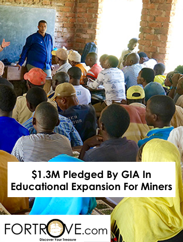 $1.3M Pledged By GIA In Educational Expansion For Miners