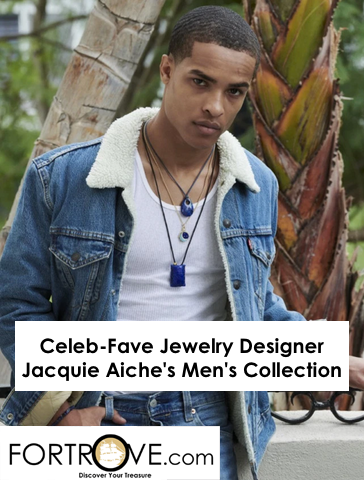 Celeb-Fave Jewelry Designer Jacquie Aiche Released A Men's Collection