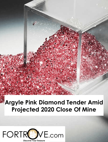 Argyle Pink Diamond Tender Amid Projected 2020 Close Of Mine