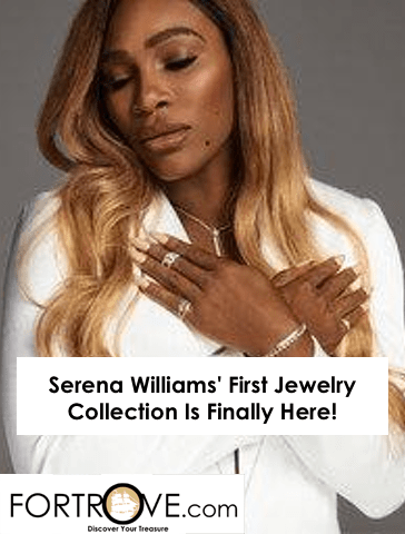 Serena Williams' First Jewelry Collection Is Finally Here!
