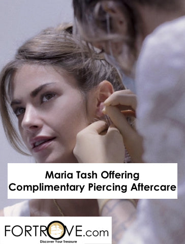Maria Tash Offering Complimentary Piercing Aftercare