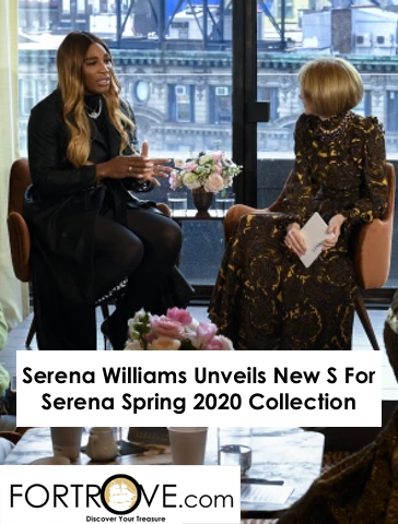 Serena Williams Unveils New S For Serena Spring 2020 Collection