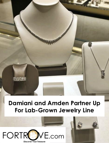 Damiani and Amden Partner Up For Lab-Grown Jewelry Line
