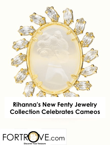 Rihanna's New Fenty Jewelry Collection Celebrates Cameos