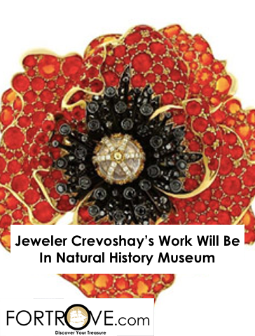Jeweler Crevoshay's Work To Be Featured In L.A.'s Natural History Museum