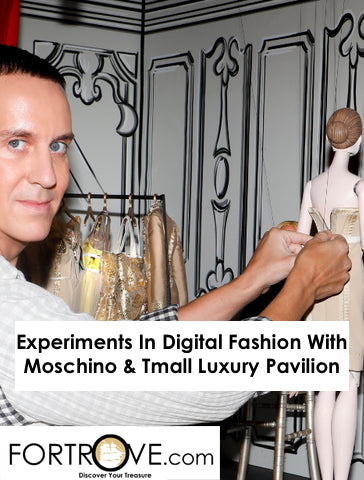 Experiments In Digital Fashion With Moschino & Tmall Luxury Pavilion