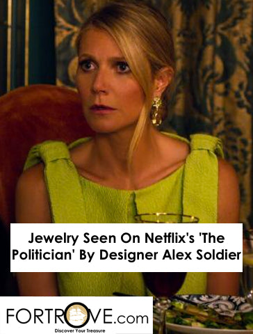 Jewelry Seen On Netflix's 'The Politician' By Designer Alex Soldier