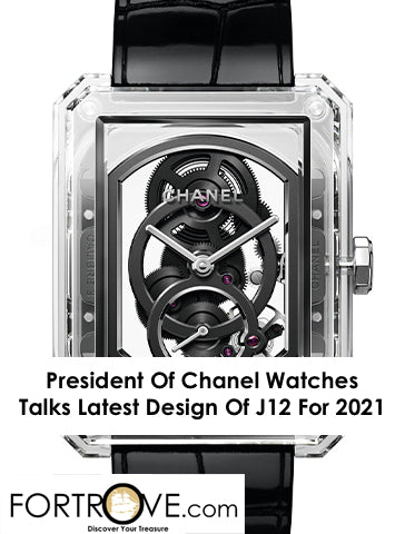 President Of Chanel Watches Talks Latest Design Of J12 For 2021