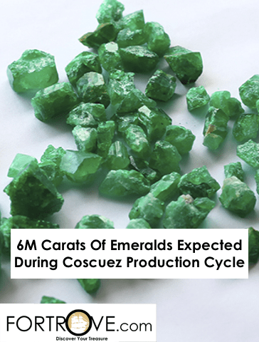 6M Carats Of Emeralds Expected During Coscuez Production Cycle