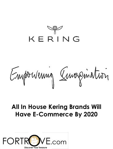 All In House Kering Brands Will Have E-Commerce By 2020