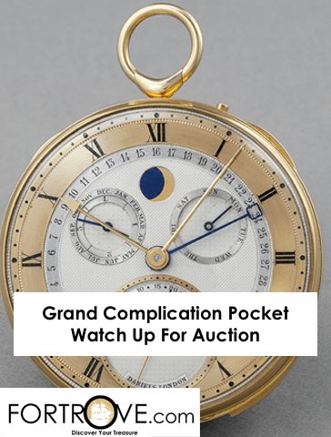 Grand Complication Pocket Watch Up For Auction