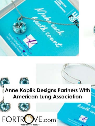 Anne Koplik Designs Partners WIth American Lung Association