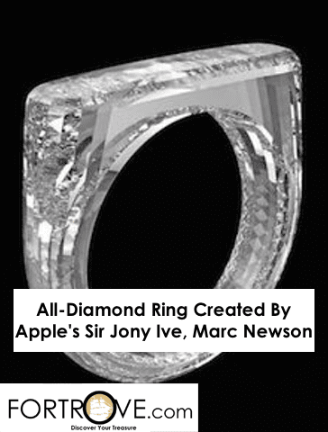 All-Diamond Ring Created By Apple's Sir Jony Ive And Marc Newson