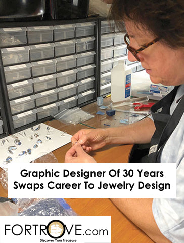 Graphic Designer Of 30 Years Swaps Career To Jewelry Design
