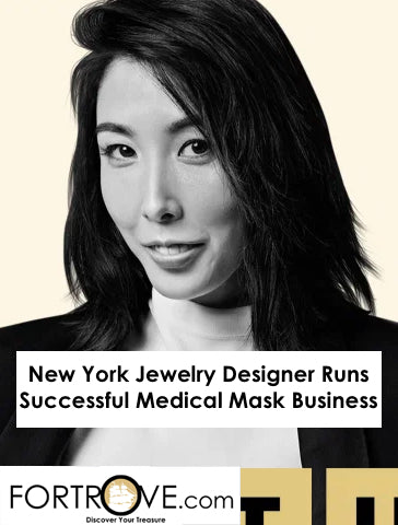 New York Jewelry Designer Runs Successful Medical Mask Business