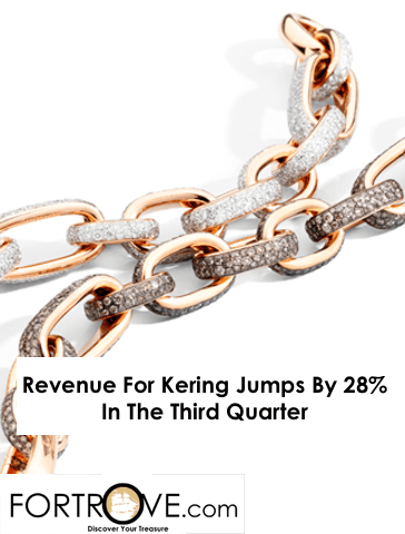 Revenue For Kering Jumps By 28% In The Third Quarter
