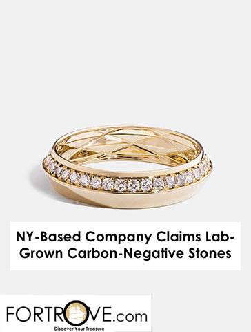 NY-Based Company Claims Lab-Grown Carbon-Negative Stones