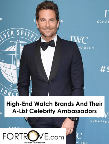 High-End Watch Brands And Their A-List Celebrity Ambassadors