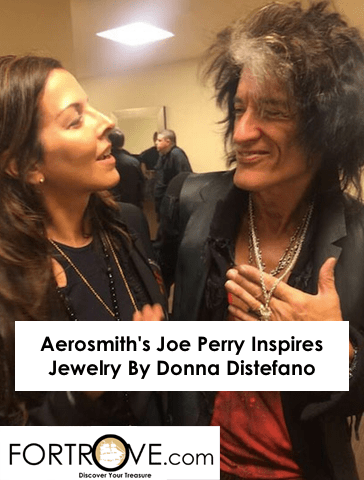 Aerosmith's Joe Perry Inspires Jewelry By Donna Distefano