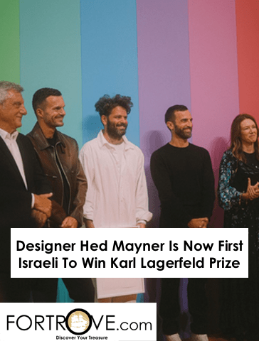 Designer Hed Mayner Is Now First Israeli To Win Karl Lagerfeld Prize