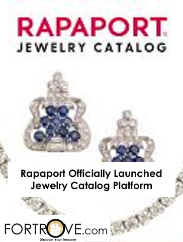 Rapaport Officially Launched Jewelry Catalog Platform