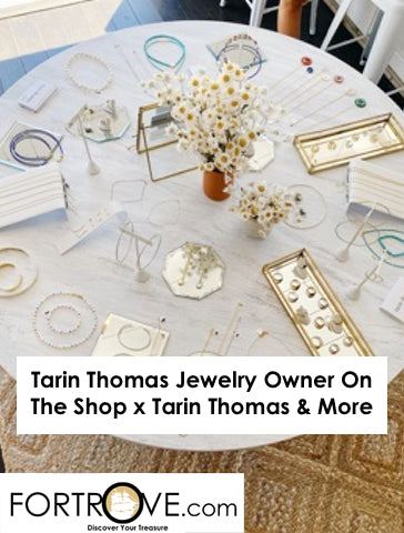 Tarin Thomas Jewelry Owner On The Shop x Tarin Thomas & More