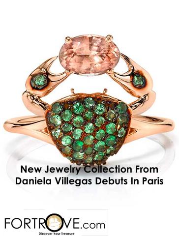 New Jewelry Collection From Daniela Villegas Debuts In Paris