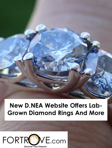 New D.NEA Website Offers Lab-Grown Diamond Rings And More