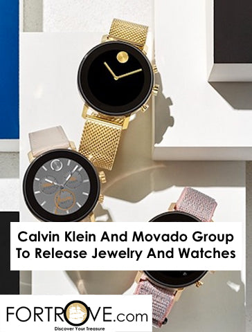 Calvin Klein And Movado Group To Release Jewelry And Watches