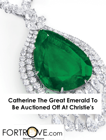 Catherine The Great Emerald To Be Auctioned Off At Christie's