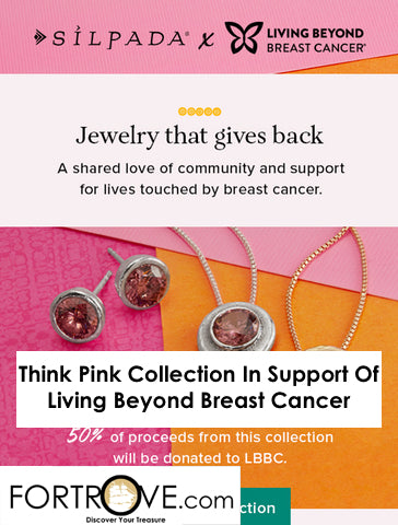 Think Pink Collection In Support Of Living Beyond Breast Cancer