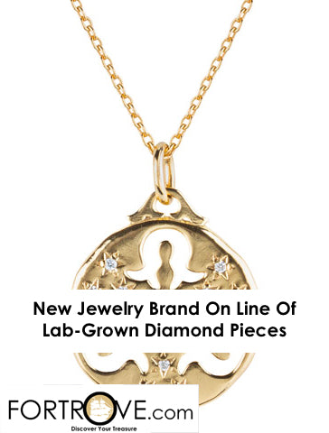 New Jewelry Brand On Line Of Lab-Grown Diamond Pieces