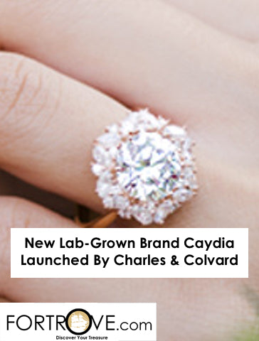 New Lab-Grown Brand Caydia Launched By Charles & Colvard