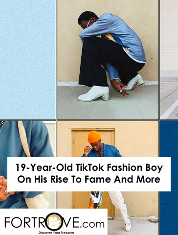 19-Year-Old TikTok Fashion Boy On His Rise To Fame And More