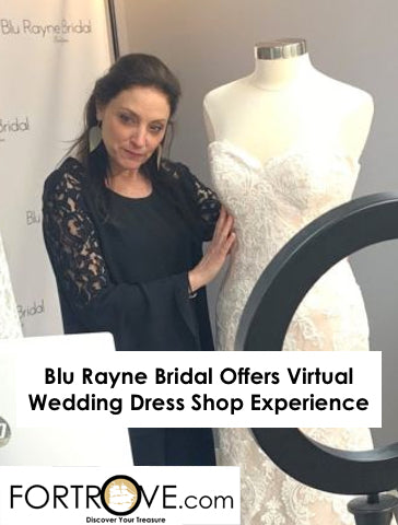 Blu Rayne Bridal Offers Virtual Wedding Dress Shop Experience