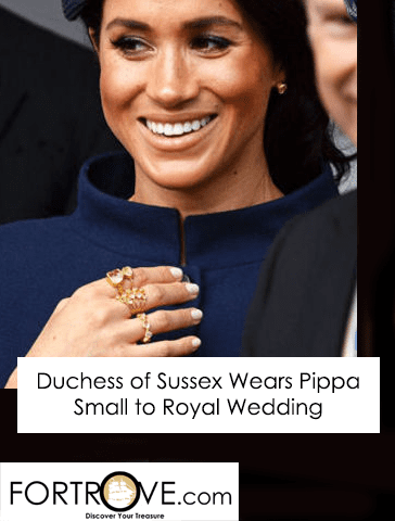 Duchess of Sussex, Meghan Markle, Wears Pippa Small to Royal Wedding
